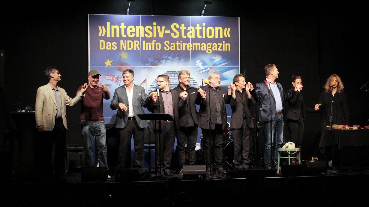 Das Instensiv-Station Team; Foto: Jenny von Gagern, NDR